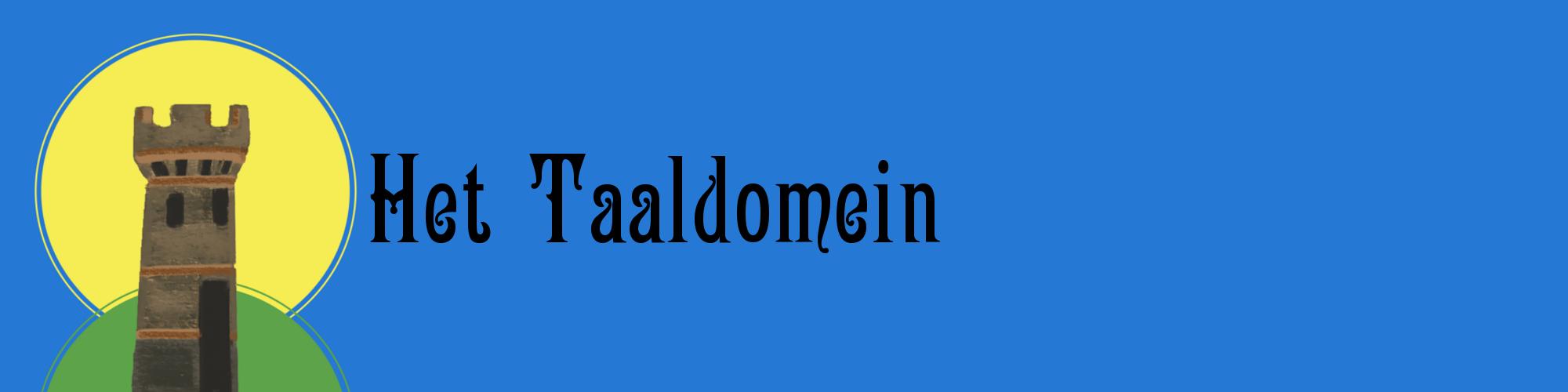 Het Taaldomein